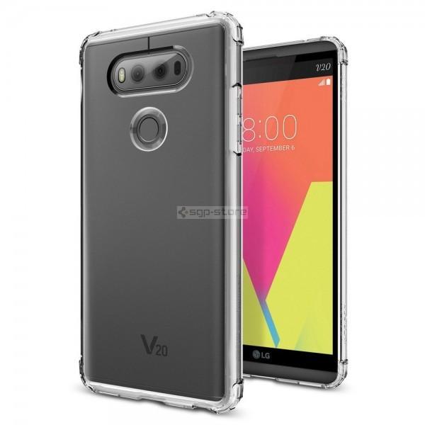 Чехол для LG V20 - Spigen - SGP - Crystal Shell