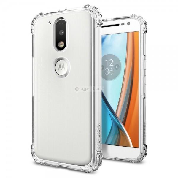 Чехол для Motorola Moto G4 / G4 Plus - Spigen - SGP - Crystal Shell