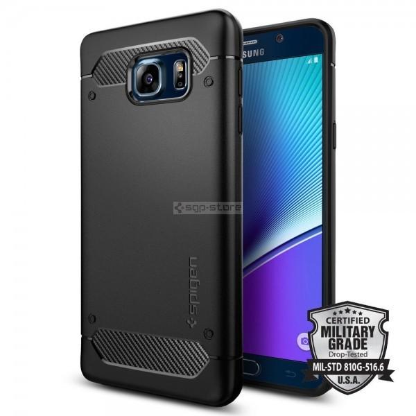 Чехол для Galaxy Note 5 - Spigen - SGP - Rugged Armor