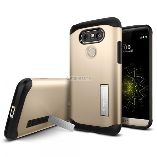 Защитный чехол для LG G5 - Spigen - SGP - Slim Armor