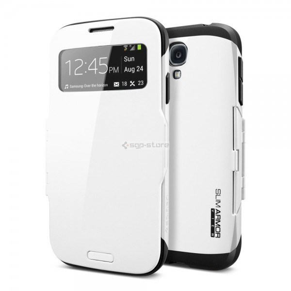 Защитный чехол для Galaxy S4 - Spigen - SGP - Slim Armor View