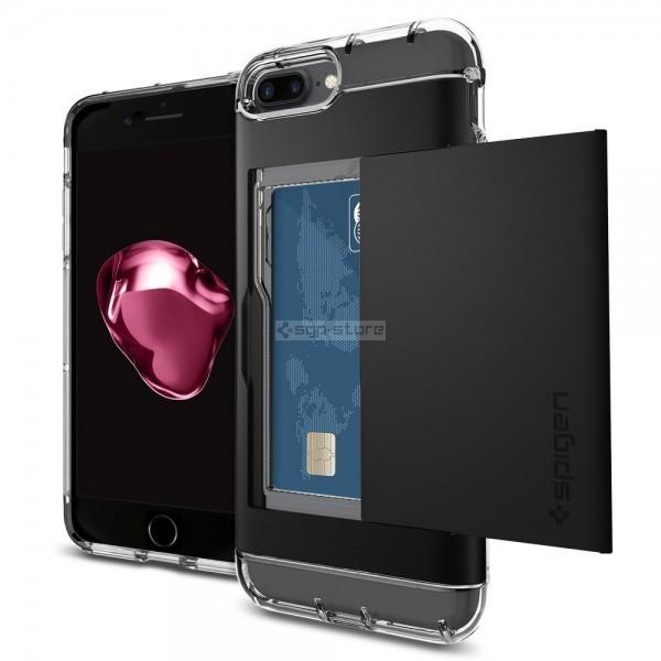Чехол-визитница для iPhone 8 Plus / 7 Plus - Spigen - SGP - Crystal Wallet