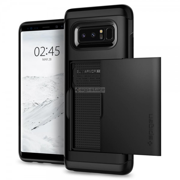Чехол-визитница для Galaxy Note 8 - Spigen - SGP - Slim Armor CS