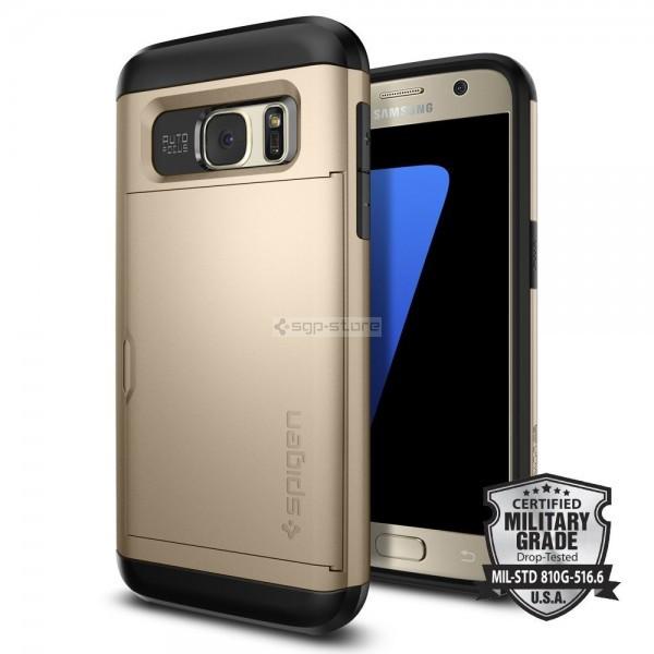 Чехол-визитница для Galaxy S7 - Spigen - SGP - Slim Armor CS