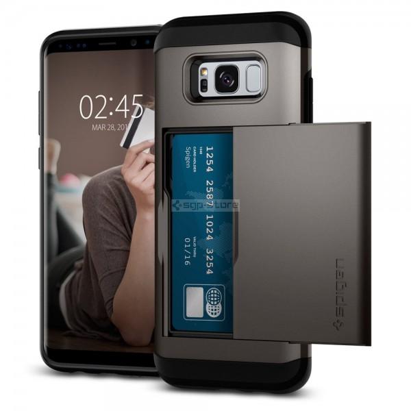 Чехол-визитница для Galaxy S8 - Spigen - SGP - Slim Armor CS