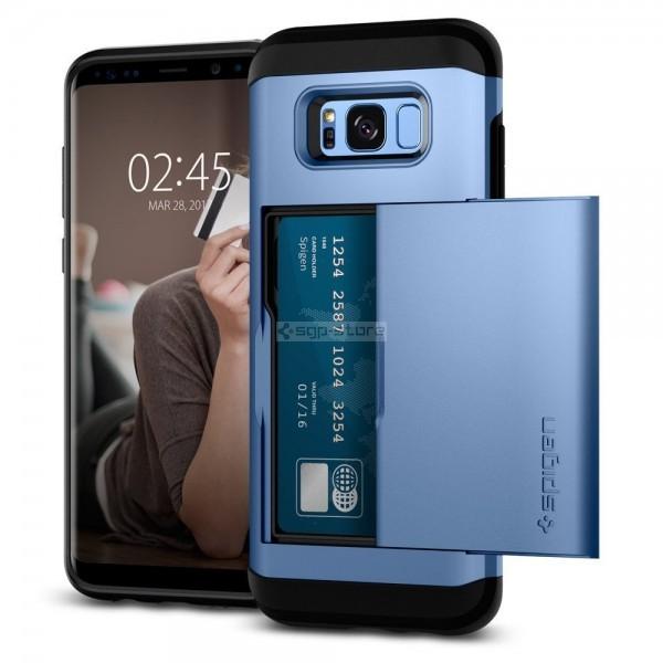 Чехол-визитница для Galaxy S8 Plus - Spigen - SGP - Slim Armor CS