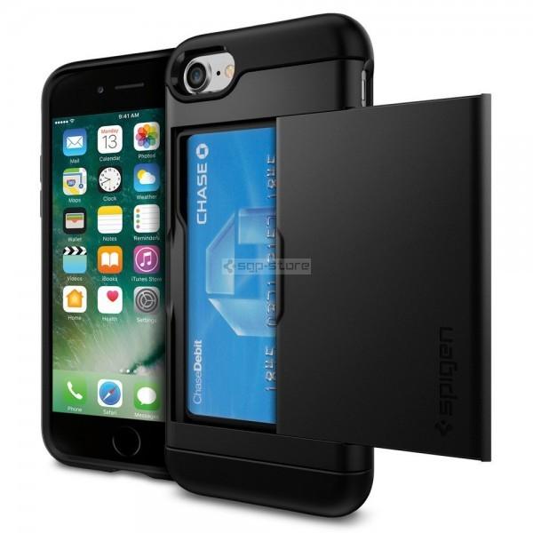 Чехол-визитница для iPhone SE (2020) / 8 / 7 - Spigen - SGP - Slim Armor CS