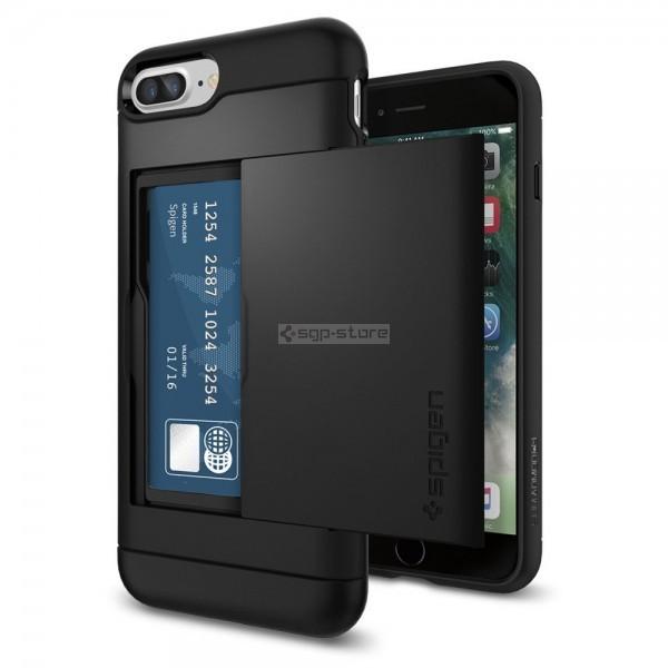 Чехол-визитница для iPhone 8 Plus / 7 Plus - Spigen - SGP - Slim Armor CS