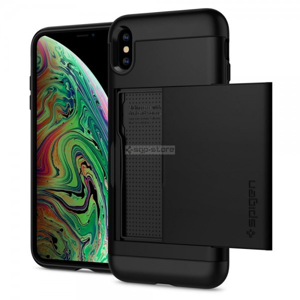 Чехол-визитница для iPhone XS Max - Spigen - SGP - Slim Armor CS
