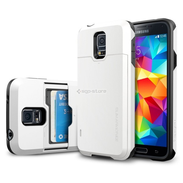 Чехол для Galaxy S5 - Spigen - SGP - Slim Armor CS