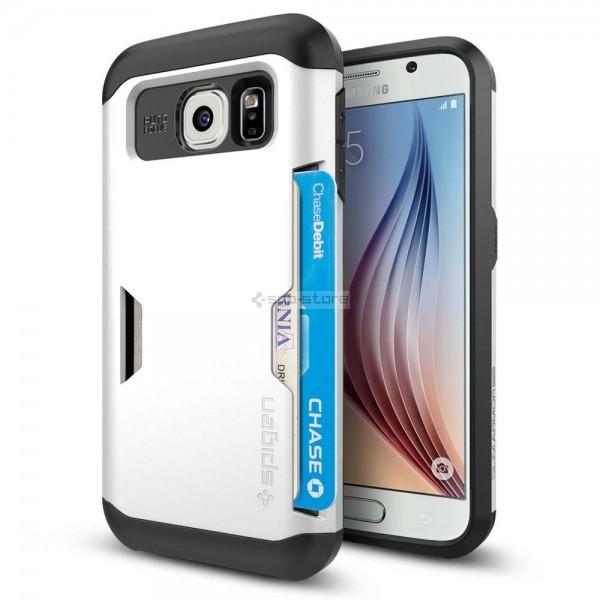 Чехол-визитница для Galaxy S6 - Spigen - SGP - Slim Armor CS