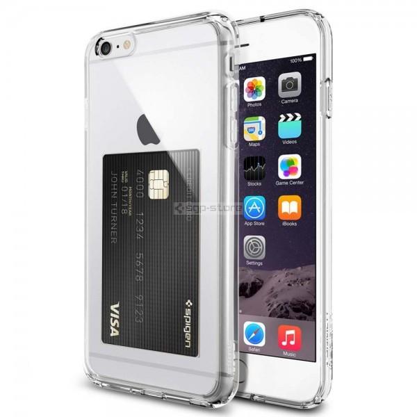 Чехол-визитка для iPhone 6s Plus / 6 Plus - Spigen - SGP - Ultra Hybrid ID