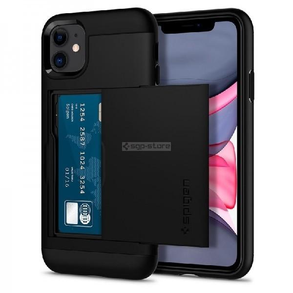 Чехол-визитница для iPhone 11 - Spigen - SGP - Slim Armor CS