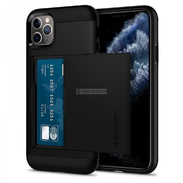Чехол-визитница для iPhone 11 Pro - Spigen - SGP - Slim Armor CS