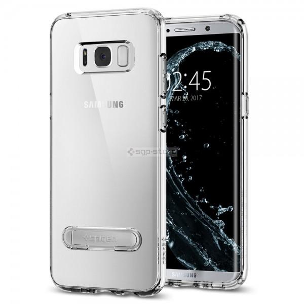 Гибридный чехол с подставкой для Galaxy S8 - Spigen - SGP - Ultra Hybrid S