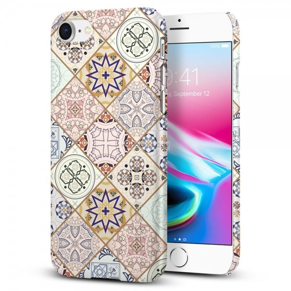Клип-кейс для iPhone SE (2020) / 8 / 7 - Spigen - SGP - Thin Fit Arabesque
