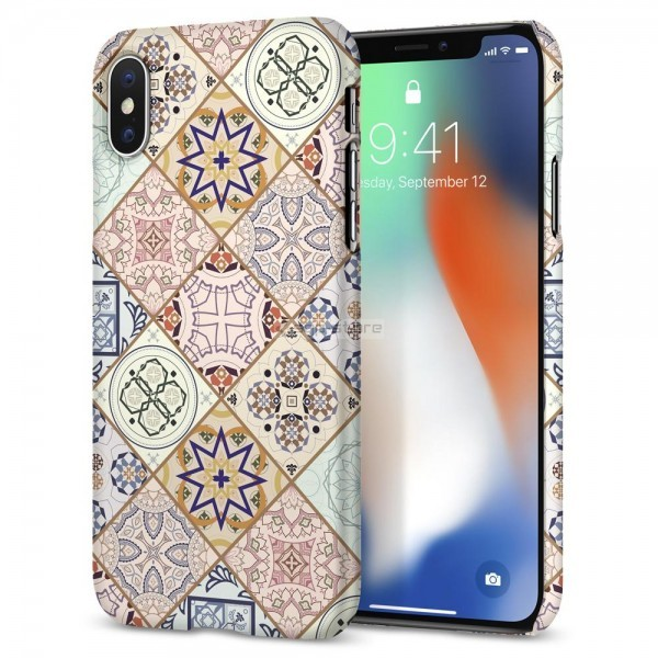 Клип-кейс для iPhone XS / X - Spigen - SGP - Thin Fit Arabesque