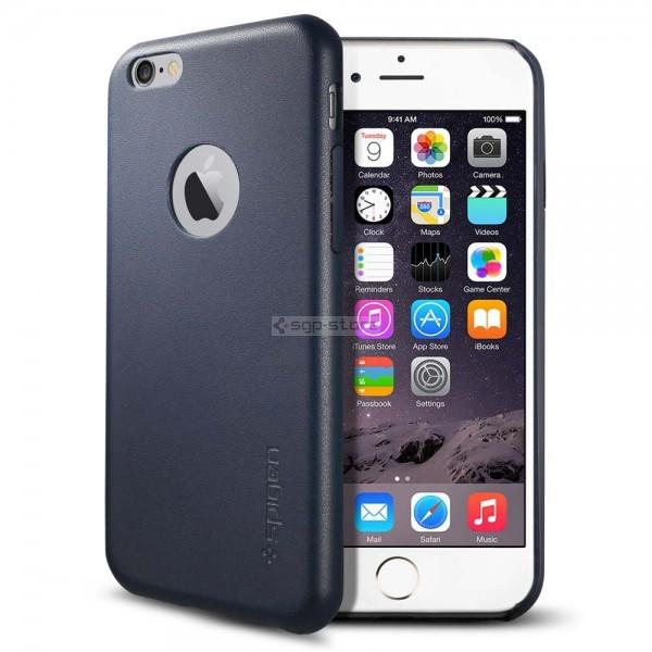 Кожаный клип-кейс для iPhone 6s / 6 - Spigen - SGP - Leather Fit