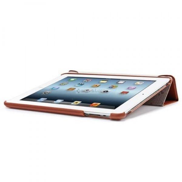 Кожаный чехол-подставка для iPad 4 / 3 / 2 - Spigen - SGP - Leinwand