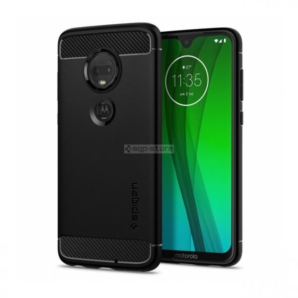 Прочный чехол для Moto G7 / G7 Plus - Spigen - SGP - Rugged Armor