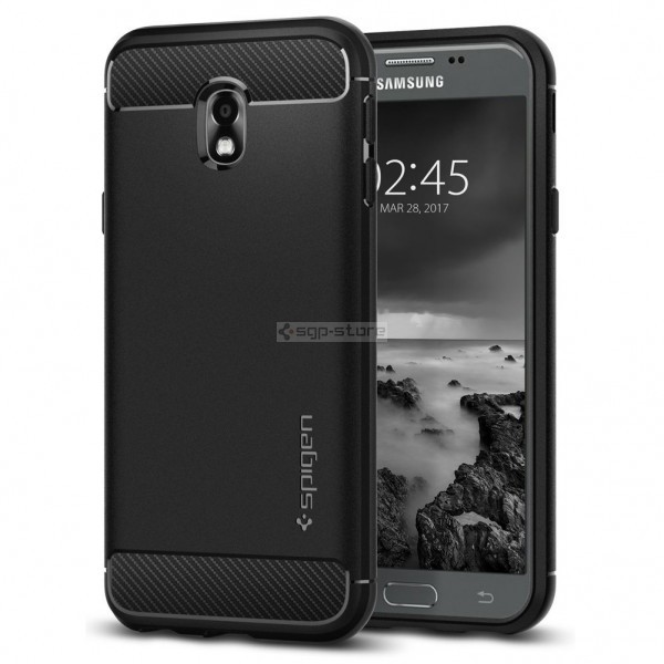 Прочный чехол для Galaxy J3 (2017) - Spigen - SGP - Rugged Armor