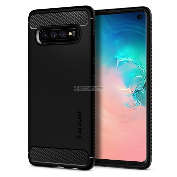 Прочный чехол для Galaxy S10 - Spigen - SGP - Rugged Armor