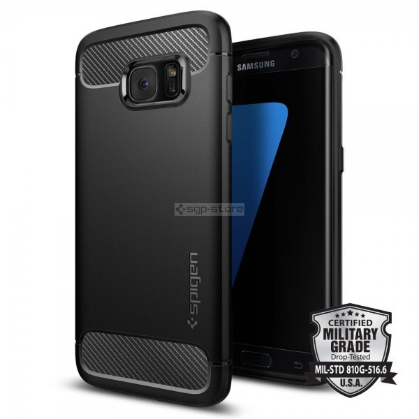 Прочный чехол для Galaxy S7 Edge - Spigen - SGP - Rugged Armor