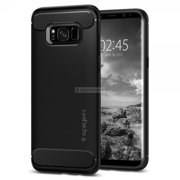 Прочный чехол для Galaxy S8 - Spigen - SGP - Rugged Armor