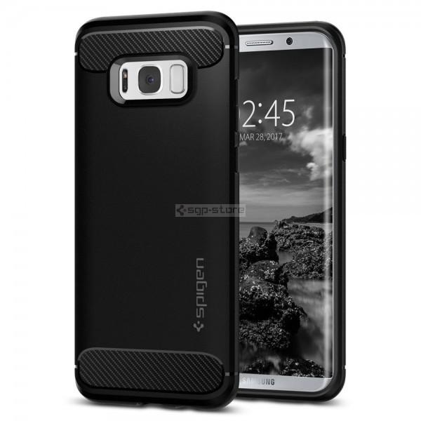 Прочный чехол для Galaxy S8 Plus - Spigen - SGP - Rugged Armor