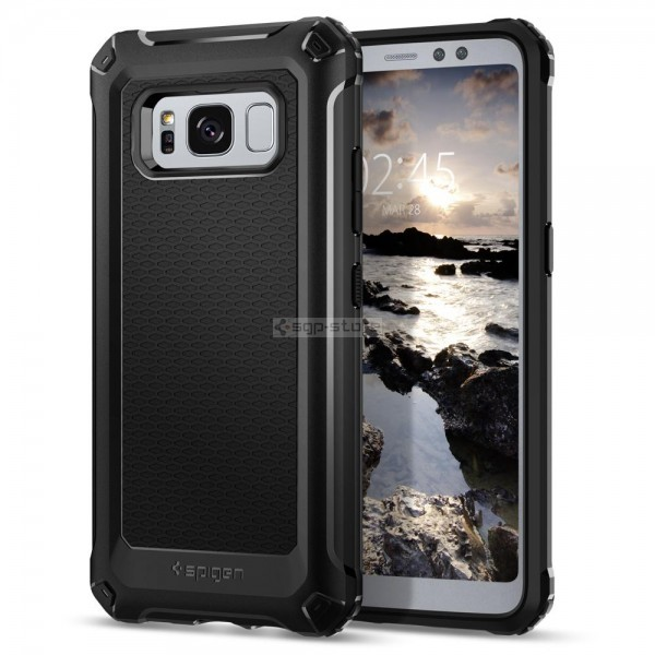 Прочный чехол для Galaxy S8 Active - Spigen - SGP - Rugged Armor Extra