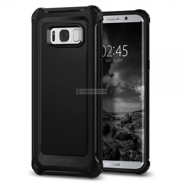 Прочный чехол для Galaxy S8 Plus - Spigen - SGP - Rugged Armor Extra