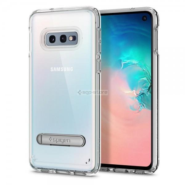 Прозрачный чехол с подставкой для Galaxy S10e - Spigen - SGP - Ultra Hybrid S