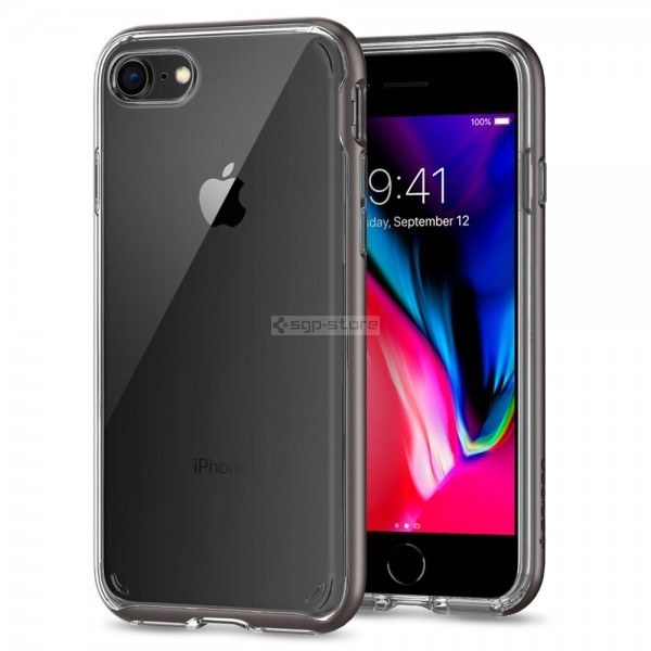 Прозрачный чехол для iPhone SE (2020) / 8 / 7 - Spigen - SGP - Neo Hybrid Crystal 2