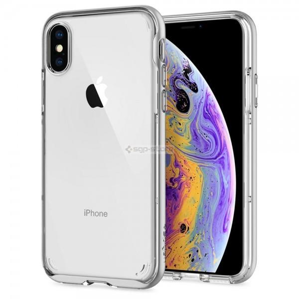 Прозрачный чехол для iPhone XS / X - Spigen - SGP - Neo Hybrid Crystal