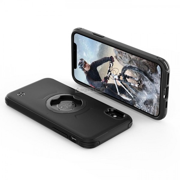 Спортивный чехол для iPhone XS Max - Spigen - SGP - Bike Mount Gearlock