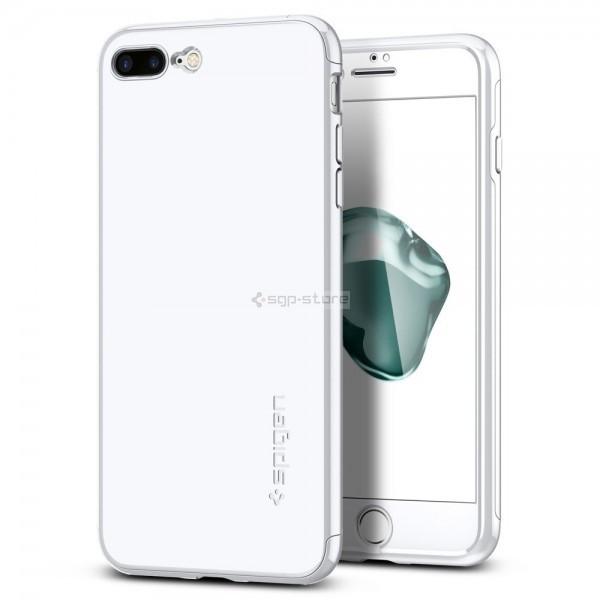 Тонкий чехол для iPhone 8 Plus / 7 Plus - Spigen - SGP - Air Fit 360