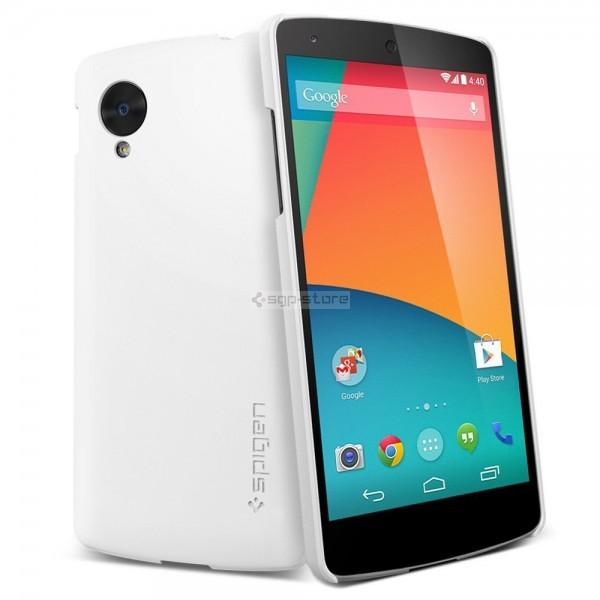 Ультратонкий чехол для Nexus 5 - Spigen - SGP - Ultra Fit