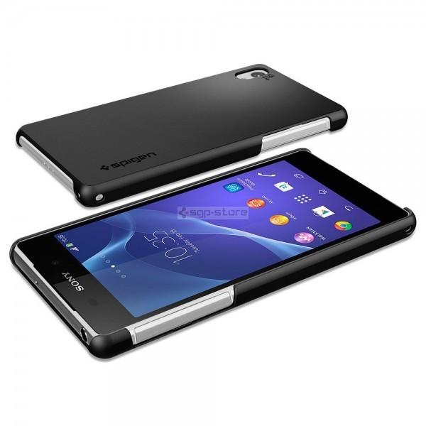 Чехол-накладка для Sony Xperia Z2 - Spigen - SGP - Ultra Fit