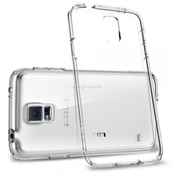 Силиконовый чехол для Galaxy S5 - Spigen - SGP - Ultra Fit Capsule