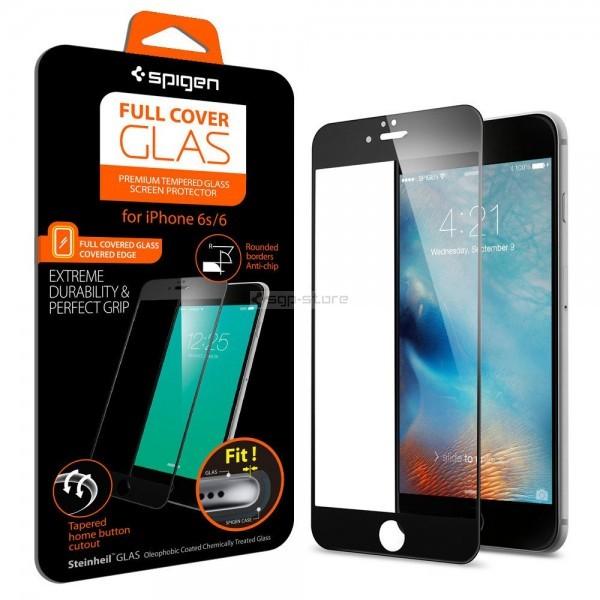 Защитное стекло для iPhone 6s / 6 - Spigen - SGP - Full Cover Glass