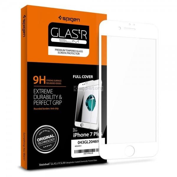 Защитное стекло для iPhone 8 Plus / 7 Plus - Spigen - SGP - Full Cover Glass