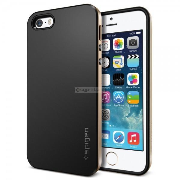 Чехол для iPhone SE / 5s / 5 - Spigen - SGP - Neo Hybrid
