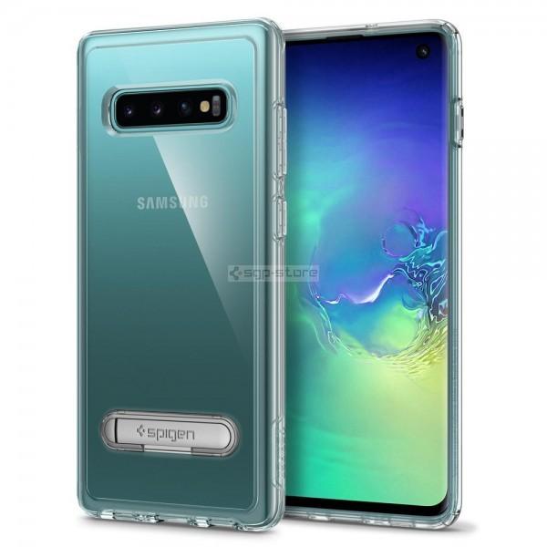 Защитный чехол для Galaxy S10 - Spigen - SGP - Slim Armor Crystal