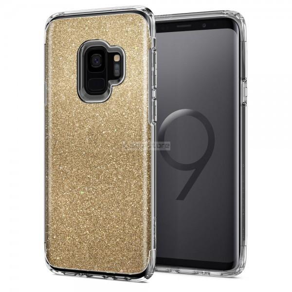 Защитный чехол для Galaxy S9 - Spigen - SGP - Slim Armor Crystal Glitter
