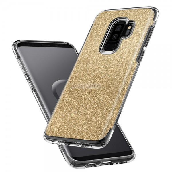 Защитный чехол для Galaxy S9 Plus - Spigen - SGP - Slim Armor Crystal Glitter