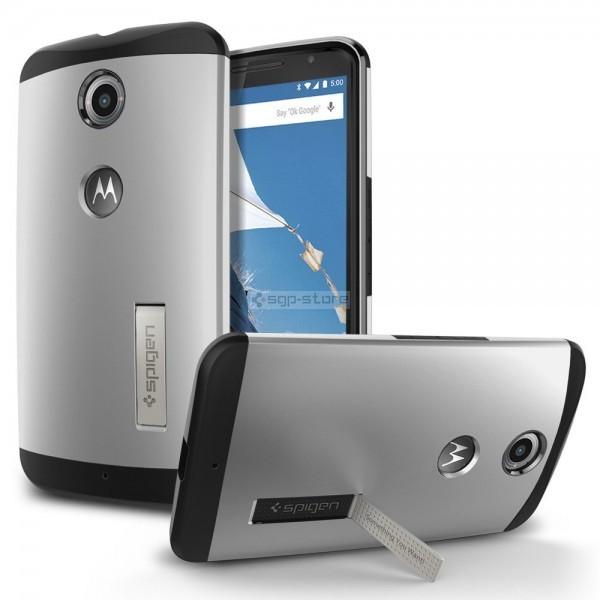 Защитный чехол для Nexus 6 - Spigen - SGP - Slim Armor
